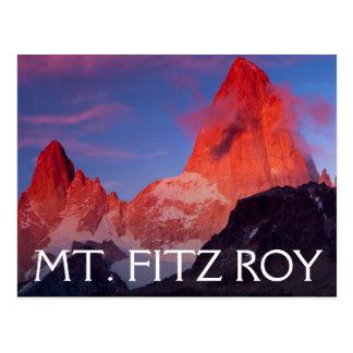 Postal Mt Fitz Roy