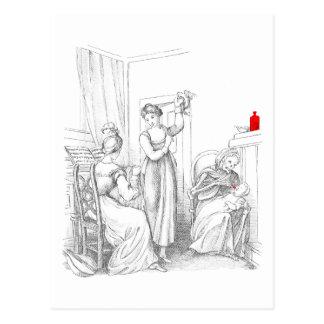 Postal Muerte el Nursemaid