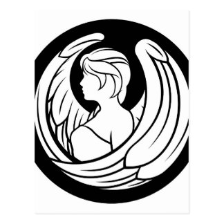 Postal Muestra del horóscopo del zodiaco del virgo