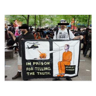 Postal Muestras de la protesta de OWS (postal)