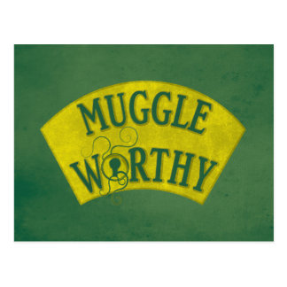 Postal Muggle digno