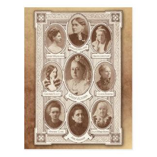 Postal Mujeres eminentes