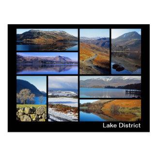 Postal Multi-imagen 3 del distrito del lago