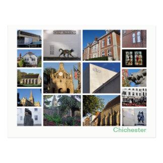 Postal Multi-imagen de Chichester