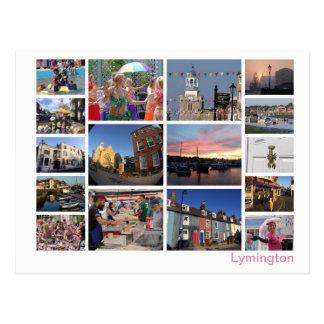 Postal Multi-imagen de Lymington