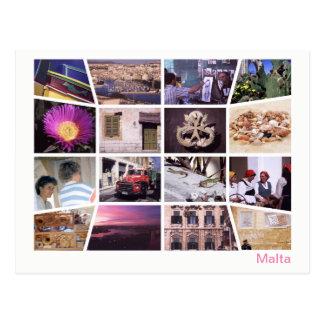 Postal Multi-imagen de Malta