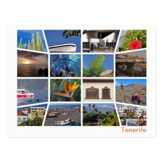 Postal Multi-imagen de Tenerife