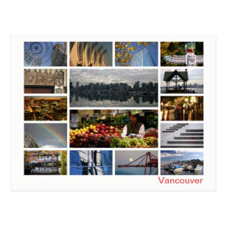 Postal Multi-imagen de Vancouver