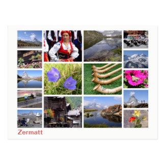 Postal Multi-imagen de Zermatt