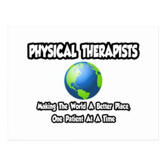 Postal Mundo de los terapeutas físicos… un mejor lugar