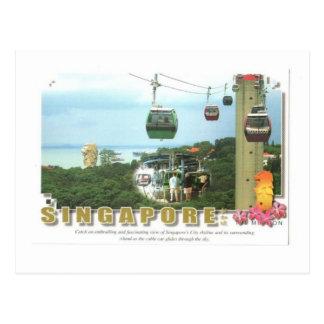 Postal Mundo Sentosa del centro turístico de Singapur