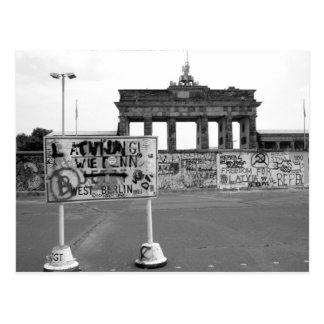 Postal Muro de Berlín