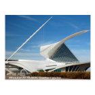 Postal Museo de arte de Milwaukee, pabellón de Quadracci