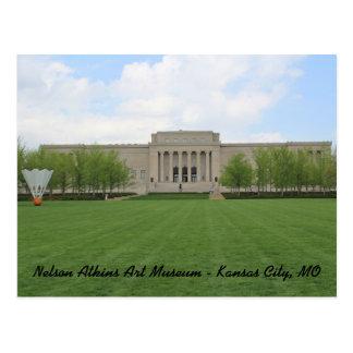 Postal Museo de arte de Nelson Atkins