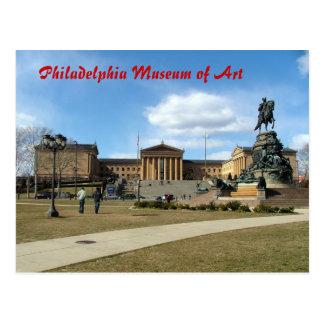 Postal Museo de arte de Philadelphia