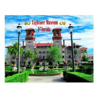Postal Museo de Lightner, St Augustine, la Florida