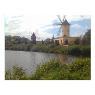 Postal Museo de molino de viento Gifhorn