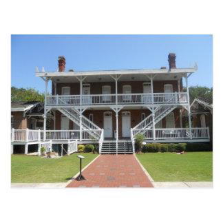Postal Museo del faro de St Augustine, la Florida