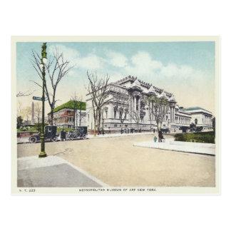 Postal Museo metropolitano del vintage, New York City, NY