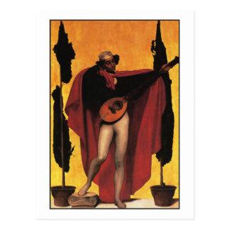 Postal Música de Federico Leighton