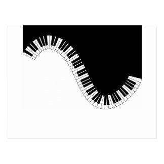 POSTAL MÚSICA DEL PIANO