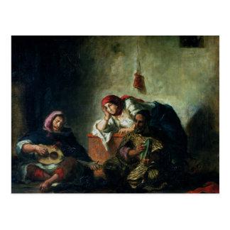 Postal Músicos judíos en Mogador, 1847