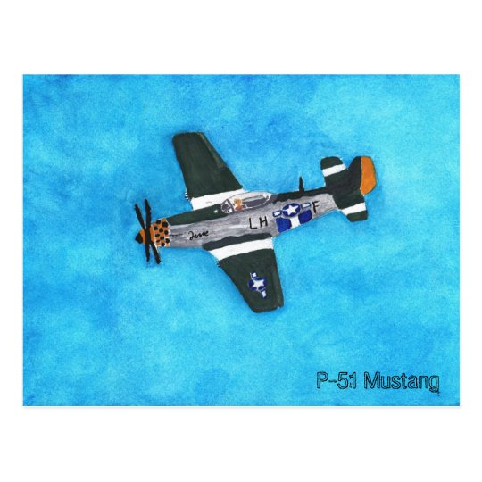 Postal Mustango P-51