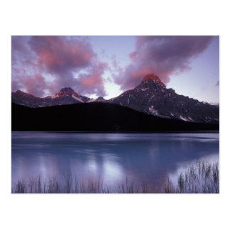 Postal NA, Canadá, Banff NP, la primera luz de la mañana