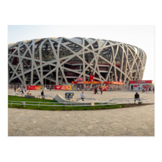 Postal Nacional el estadio Olímpico de Pekín