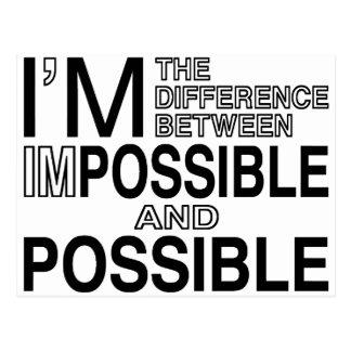 Postal Nada imposibles