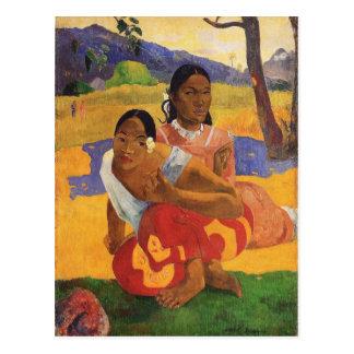 "Postal ""Nafea Faa Ipoipo"" - Paul Gauguin"
