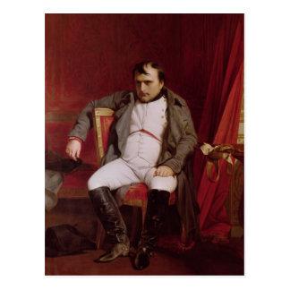 Postal Napoleon después de su abdicación