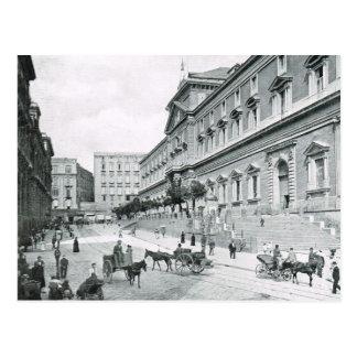 Postal Nápoles, 1908, Museo Nationale