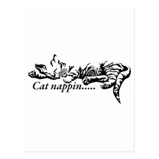 Postal Nappin del gato ..........