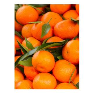 Postal naranja en invierno