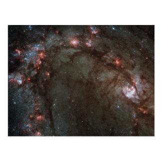 Postal NASA de la galaxia espiral M83