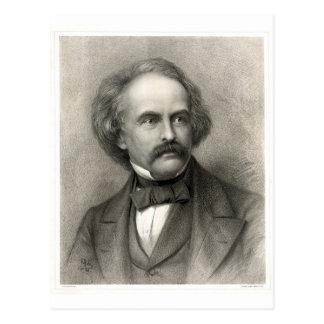 Postal Nathaniel Hawthorne