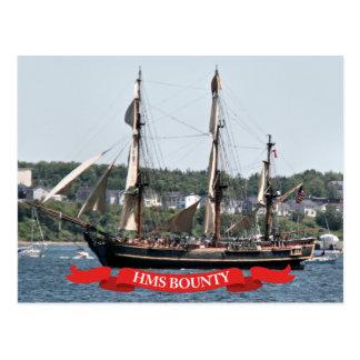Postal Nave alta de la generosidad del HMS