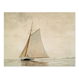 Postal Navegación de Gloucester de Winslow Homer