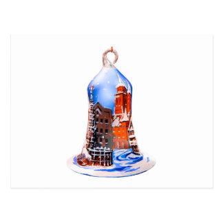 Postal Navidad Bell #5