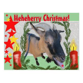 Postal ¡Navidad de Meheherry!