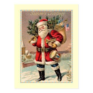 Postal Navidad del vintage