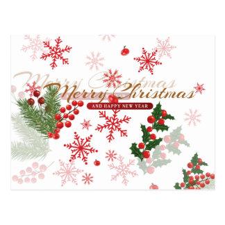 Postal Navidad elegante