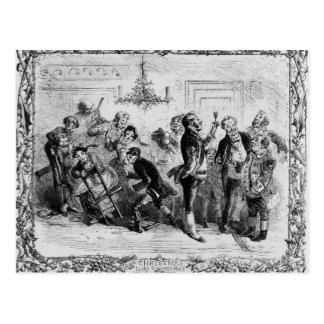Postal Navidad en el Pasillo del criado