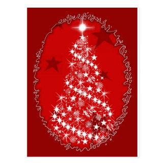 Postal Navidad encantado