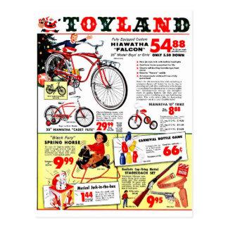 Postal Navidad Toyland