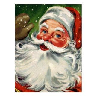 "Postal ""Navidad tradicional Santa """