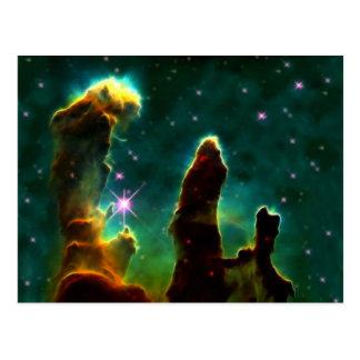 Postal Nebulosa de M16 Eagle o pilares de la creación