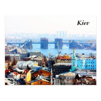 Postal Negocio y ciudad industrial, Kiev de Kiev