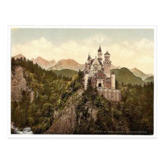 Postal Neuschwanstein, Baviera superior, Alemania